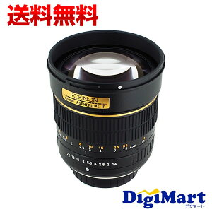 【送料無料】ロキノン ROKINON (SAMYANG) 85mm f/1.4 Aspherical Lens for Canon [キャノン用] ...