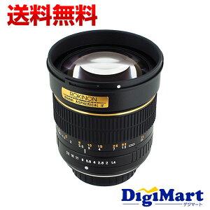 【送料無料】ロキノン ROKINON (SAMYANG) 85mm f/1.4 Aspherical Lens for Canon [キャノン用] ...
