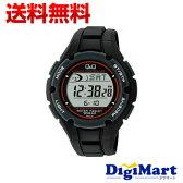 【送料無料】シチズン Citizen Q&Q デジタル SOLARMATE ソーラー電波 腕時計 MHS6-300