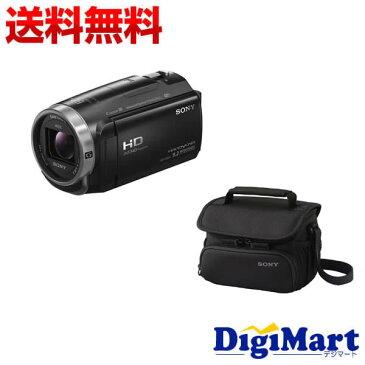 【送料無料】ソニー SONY HDR-CX675 (B) [ブラック] ビデオカメラ + ソニー純正バッグ + 8GB micro SDカード お買い得セット【新品・国内正規品】