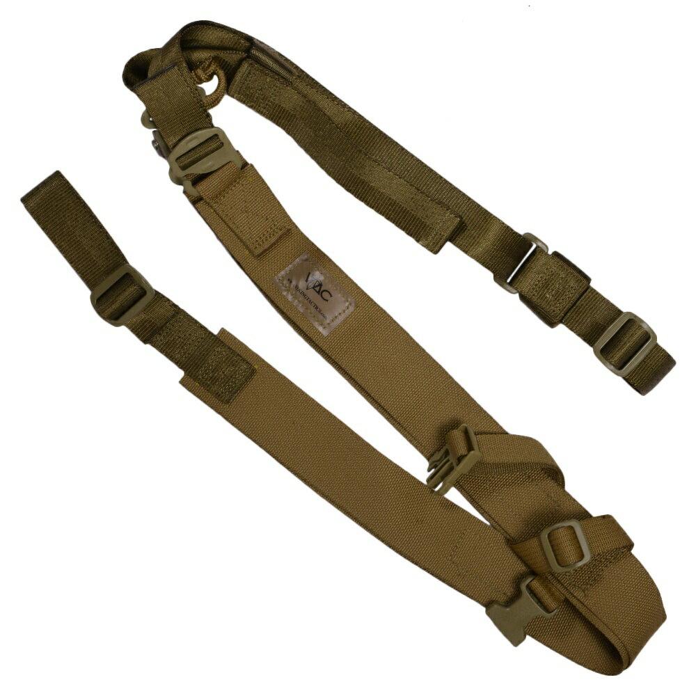 VTAC実物バックパック・スリングBPS2ポイント[コヨーテ]VIKINGTACTICSバイキングタクティクスBackPackSlingガンスリングベルトストラップトイガンパーツサバゲー用品ミリタリー装備2ポイントスリング2点スリング小銃用負紐