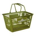 レプマート バスケット 買い物かご ショップオリジナル [ モスグリーン ] repmart オリジナルデザイン カゴ 収納かご サバゲー装備