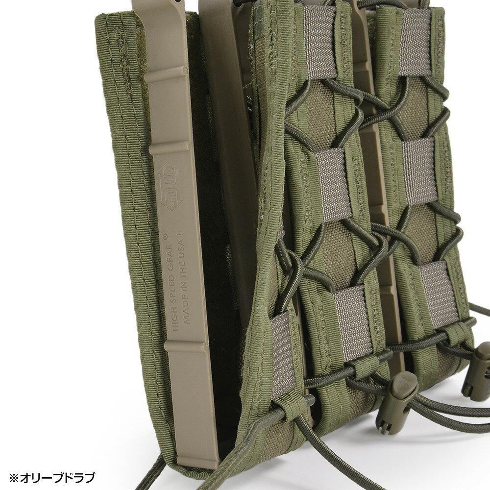 エクステンデッド シングルピストル 45EX00 ピストルマグ 実物 3連 [ コヨーテブラウン ] 弾倉 TACOマグ マガジンポーチ ハイスピードギア ピストルポーチ