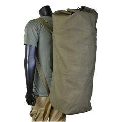 Rothco ダッフルバッグ GIスタイル ダブルストラップ 帆布 [ オリーブドラブ ] 3…