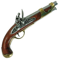 DENIX 古式銃 フリントロック | デニックス 古式拳銃 レプリカ モデルガン アンティー…
