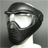 フルフェイスガード アンチフォグマスク [ ブラック ] フリースマスク 防寒マスク 防寒用フェイスマスク 防寒対策 防寒グッズ