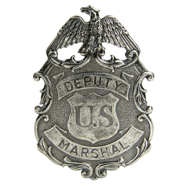 DENIXピンバッジ112/NQ保安官イーグルU.Sマーシャル西部開拓時代デニックスポリスSheriffDEPUTYUSMARS