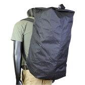 Rothco ダッフルバッグ GIタイプ ダブルストラップ [ ブラック ] 3484 ROTHCO   ミリタリー バックパック かばん カジュアルバッグ カバン 鞄 帆布