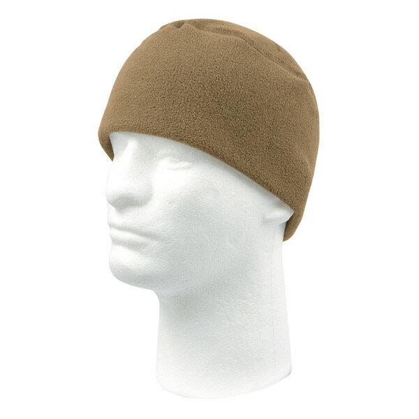 Rothco フリースキャップ 8460 [ コヨーテブラウン ] ワッチキャップ ウォッチキャップ スキー帽 ニット帽 ワッチ・キャップ ビーニー ニットキャップ メンズ画像
