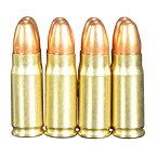 RIGHT リアルダミーカート 30MAUSER フルメタル弾頭モデル 8発入 ライト ダミーカートリッジ マウザー モーゼル モデルガン トイガン 8発セット 模擬弾 模造弾