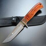 ブラックヒルズ ハンティングナイフ BKH202PW スキナー ハンターナイフ 狩猟 解体用 スキニングナイフ サバイバルナイフ シースナイフ
