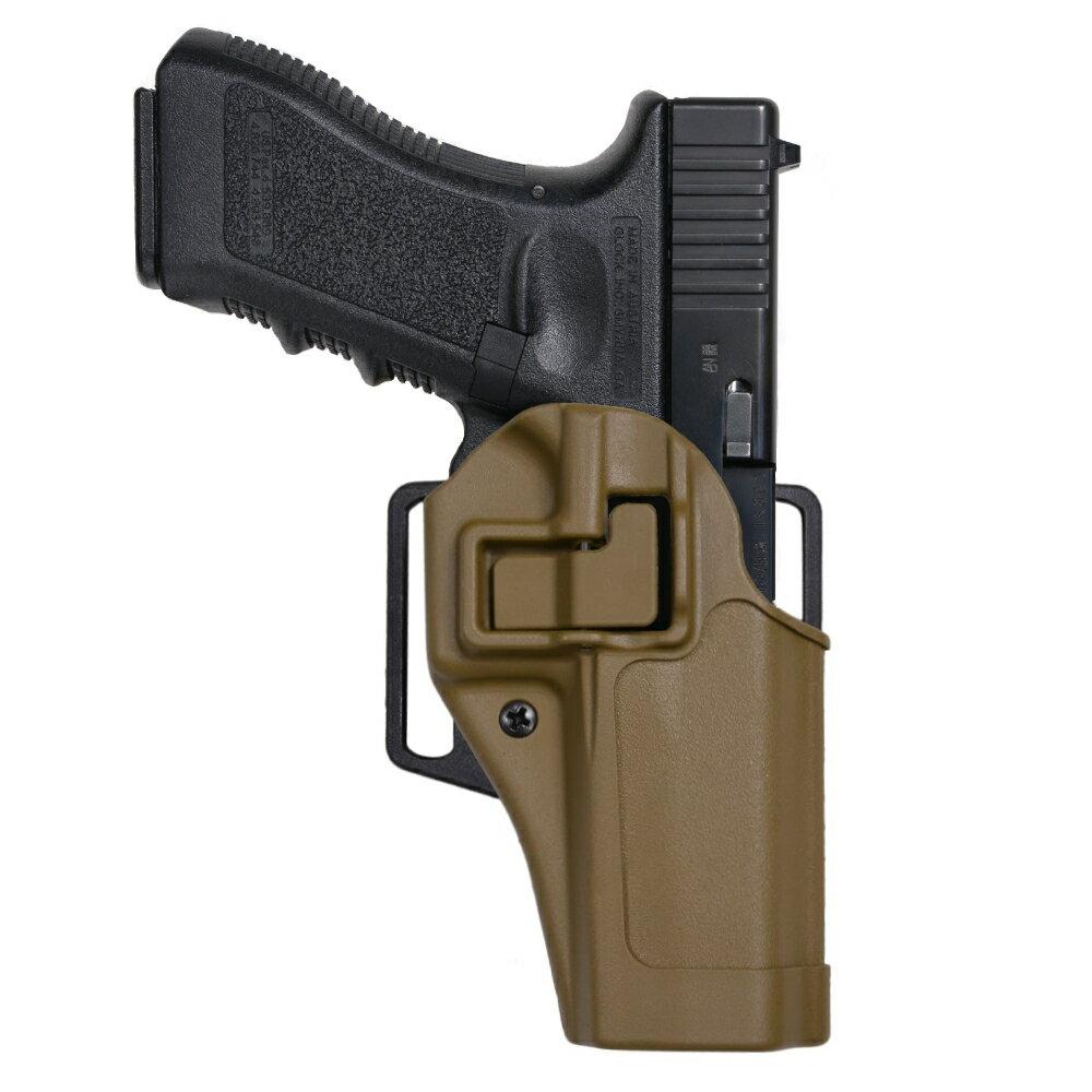 装備・備品, ホルスター BLACKHAWK SERPA CQC GLOCK 1718C 2021 BHI Glock2021 MP.45 410513BK CQB