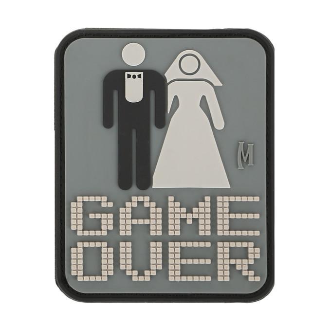 MAXPEDITION パッチ GAME OVER ウェディング PVC ベルクロ [ SWAT ] マックスペディション ゲームオーバーウェディング wedding ミリタリーワッペン ミリタリーパッチ アップリケ 記章 徽章 ラバー スリーブバッジ