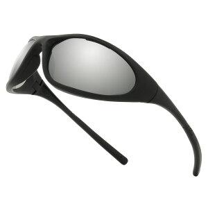 Pyramex サングラス Zone2 ブラックミラー | メンズ スポーツ 紫外線カット UVカット グラサン 運転 ドライブ バイク ツーリング 曇り止め