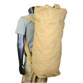 Rothco ダッフルバッグ GIスタイル ダブルストラップ 帆布 [ コヨーテ ] 3426   ミリタリー バックパック かばん カジュアルバッグ カバン 鞄