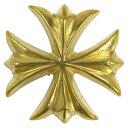 コンチョ クロス 真鍮 28mm 十字架 黄銅 ハンドメイド 長財布 ロングウォレット 革製品 レザークラフト 材料 資材 パーツ