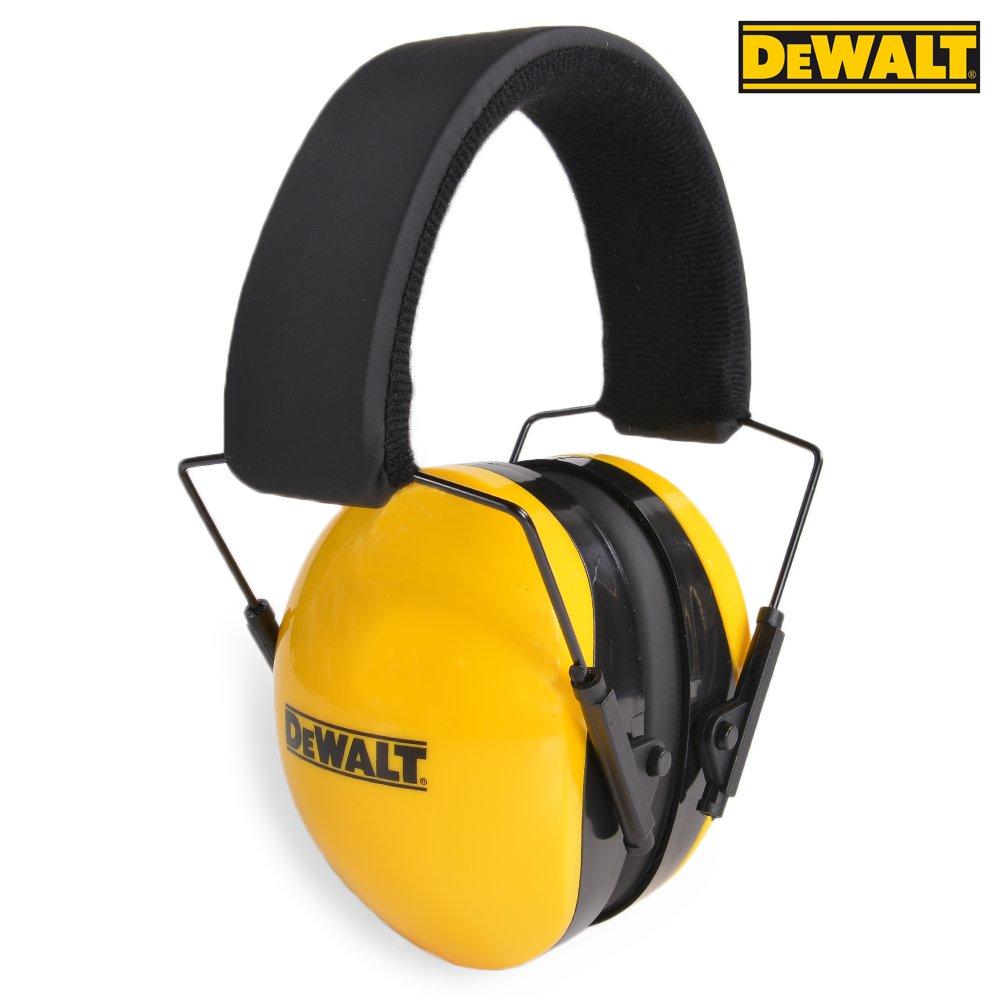 DEWALT 防音イヤーマフ インターセプター NRR29 | ヒアリングプロテクター 騒音対策 防音耳あて 工事用 防音ヘッドフォン 騒音作業