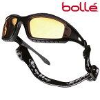Bolle サングラス トラッカー イエロー ボレーレンズ   メンズ スポーツ 紫外線カット UVカット グラサン 運転 ドライブ バイク ツーリング 曇り止め アンバー 黄色