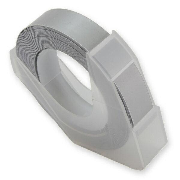 エンボステープ DYMO用 9mmx3m ダイモ [ シルバー ] RM900OR リフィルテープ レイチェル ダイモテープ ダイモ用テープ エンボスライター用テープ プラスチックテープ 凹凸テープ