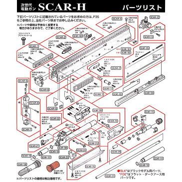 東京マルイ 次世代電動ガン SCAR-H [ 税抜32円パーツ ] TOKYO MARUI エアガン ガスガン サバゲー装備 ミリタリーグッズ サバイバルゲーム