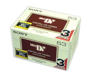 ソニー ミニDVカセット 3DVM63HD