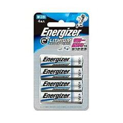 【6980円以上購入で送料無料】シック エナジャイザー(ENERGIZER) 単3形4本リチウム乾電池 FR6EL...