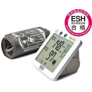 日本精密測器(NISSEI) 上腕式デジタル血圧計 DSK-1031ACアダプタ付 Kazuo Kawasaki プロデュース
