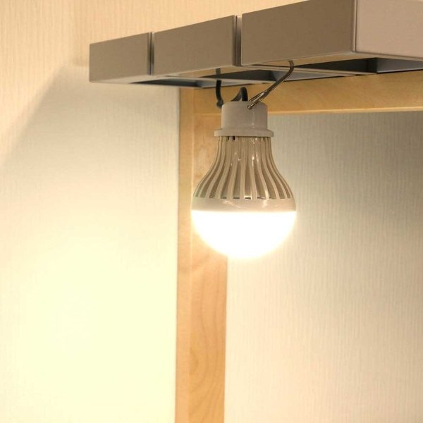 日本トラストテクノロジーUSBで光る電球型LEDライト電球色調光機能付JTTDNBALLTS-W