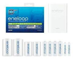 SANYO(サンヨー)エネループ(eneloop) くり返し1800回使える 新エネループ同梱 電池・スペーサー付充電器セット N-TGN016BST