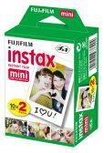 【あす楽対応品】FUJIFILM チェキ用フィルム 2本パック instax mini 2PK20枚×3個(60枚)セット