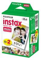 【送料無料】FUJIFILMチェキ用フィルム2本パックinstaxmini2PK(20枚)x30個(600枚)