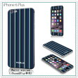 【iPhone6sPlus/6Plus 送料無料 メール便OK MURUA(ムルーア)× Gizmobies(ギズモビーズ)【Multi stripe】【iPhone6Plusケース かわいい iphone iphone6plus iPhone6plus ケース ギズモビーズ スマホケース カバー スマホシール】(あす楽対応)10P03Dec16