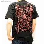 送料無料◆YUTAS ゴーストバスターズ プロトンパックTシャツ Type.A(BLACK)Mサイズ(ZG21277)