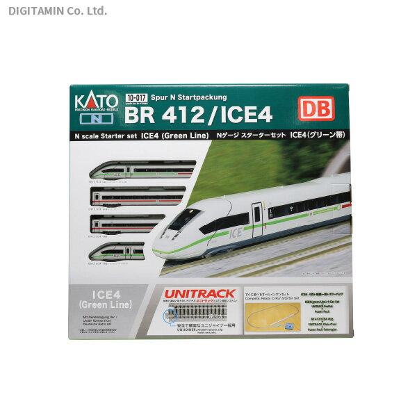 送料無料◆10-017 KATO カトー スターターセット ICE4 Nゲージ 鉄道模型 【10月予約】