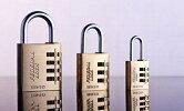 FEDERALLOCKフェデラルロックブラス製ダイヤル南京錠RB20-Pキーレス3桁ダイヤル