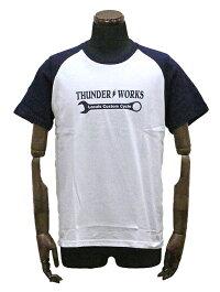 エアフィッシュ【AirFish】THUNDERWORKSTシャツ【ホワイト/ネイビー】