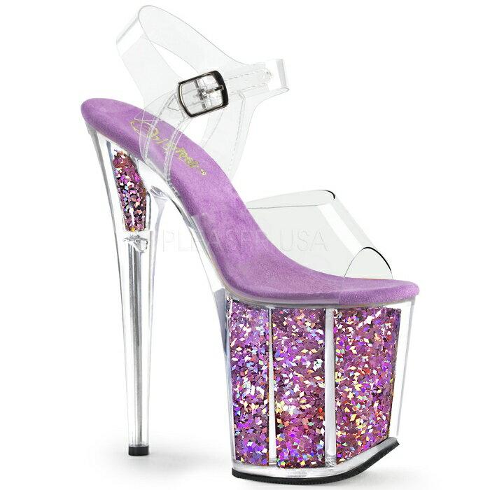 取寄せ靴  PLEASER プリーザー サンダル 大きいサイズあり イベント セクシー サンタ 女装 パーティ- クリスマス コスプレ 衣装 シューズ
