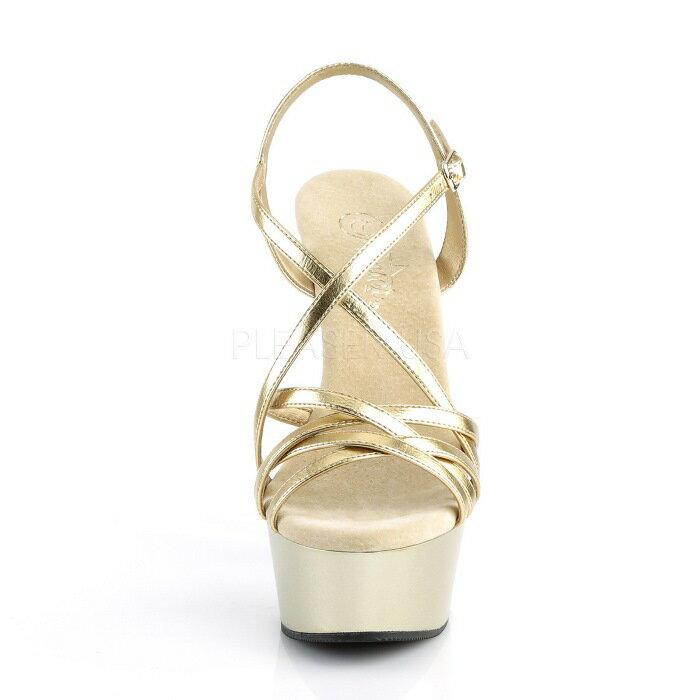 取寄せ靴  PLEASER プリーザー サンダル 15cmヒール 大きいサイズあり イベント セクシー サンタ 女装 パーティ- クリスマス コスプレ 衣装 シューズ