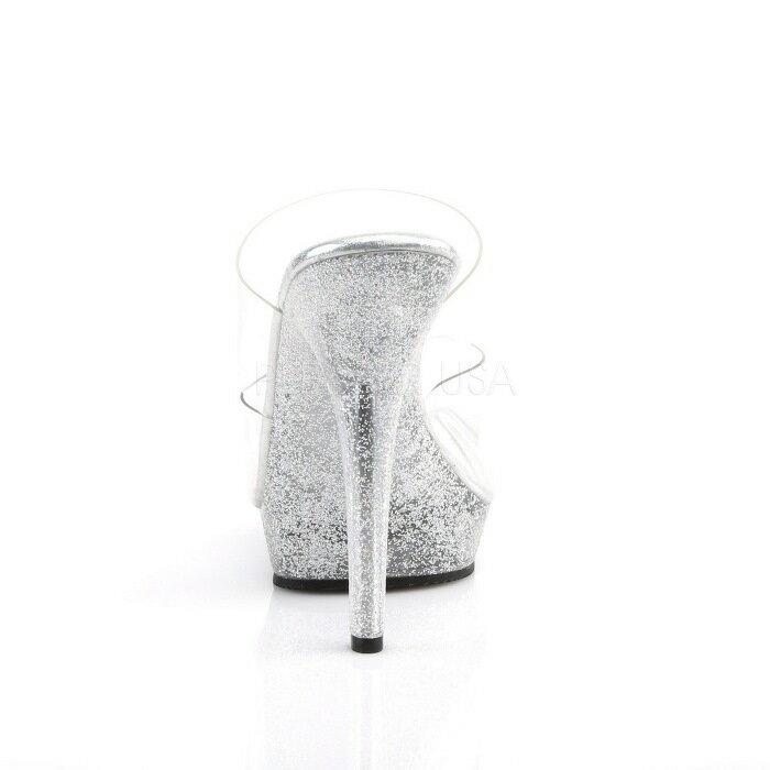 取寄せ靴  キラキラ ラメ ダブルストラップ 薄厚底サンダル 12.5cmピンヒール クリア 大きいサイズあり イベント 仮装 女装 男装 パーティ- ハロウィン コスプレ