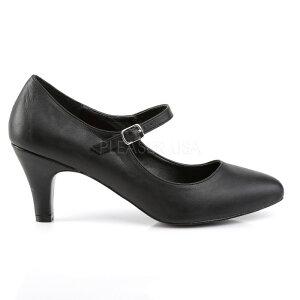 取寄せ靴新品甲ベルト付きポインテッドトゥハイヒールパンプス7.5cmヒール黒ブラックフェイクレザー大きいサイズあり行事式女装男装パーティ-LGBTファッション02P03Dec16