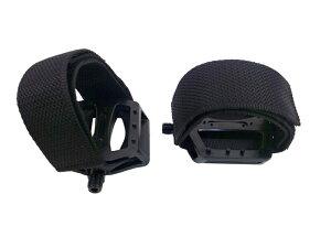 ピストバイク ペダル DINER/ダイナー POWER STRAP PEDAL SET BLACK/パワーストラップ ペダル セ...