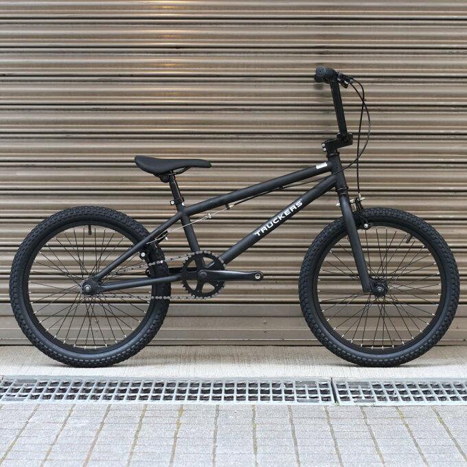 BMX 完成車 TRACKERS BMX 20 MAT BLACK 【自転車 バイク...