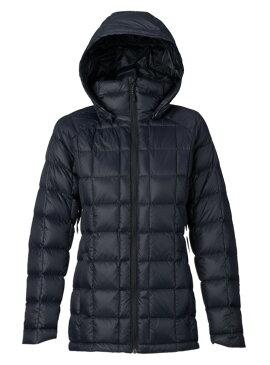 バートン 19モデル ウィメンズ インナー ダウン Burton [ak] Baker Down Jacket True Black スノーボード