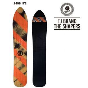 19年モデル  TJ.BRAND 2496 THE SHAPERS スノーボード パウダーボード