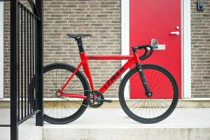 【ピストバイク 完成車 2016】 LEADER BIKES 725TR COMPLETE BIKE RED (リーダー バイク 725TR コンプリートバイク ホワイト) LEADER BIKES 725TR COMPLETE BIKE RED
