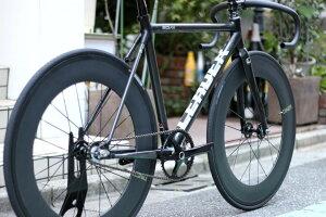 ピストバイク 完成車 LEADER BIKE EQNX DINER 88mm CARBON WHEEL SET CUSTOM PIST BIKE フルカーボン カスタム LEADER BIKE リーダーバイク EQNX イクワナクス 88mm