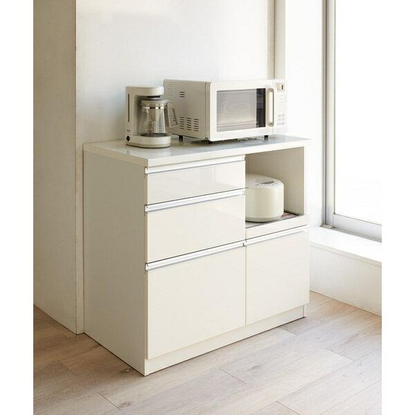 10cm刻みでピッタリ設置 高機能キッチンシリーズ キッチンカウンター 幅90cm