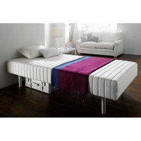 フランスベッドがつくる脚付きベッド。寝心地にもしっかりこだわる方におすすめ。