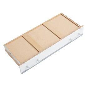 収納しやすいステンレストップカウンター引き出しタイプ幅59.5cmLR0281