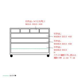 収納しやすいステンレストップカウンター引き出しタイプ幅118cmLR0283